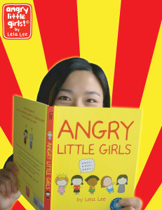 "Lela Lee, author/artist of ""Angry Little Girls"""