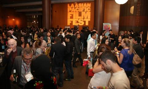 Opening night at the 2014 Los Angeles Asian Pacific Film Festival. Photo courtesy Visual Communications.