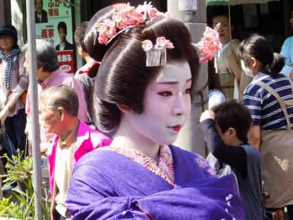 Geisha in Tokyo: Hangyoku 半玉