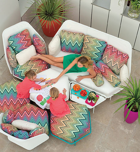 Salon De Jardin Hive Missoni Kew Mtc EGO Paris JardinChic