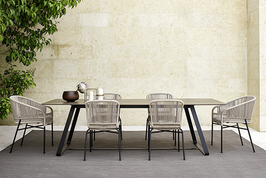Table de repas Kolonaki Varaschin Jardinchic