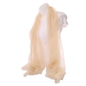 foulard-en-soie-beige
