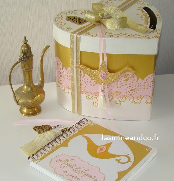 livre d'or urne oriental