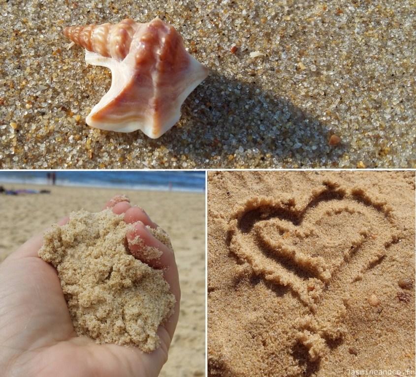 lit et mixe sable