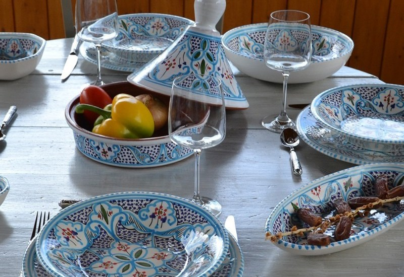 Vaisselle marocaine : on craque !