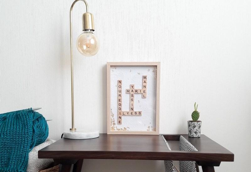 DIY Tableau Scrabble