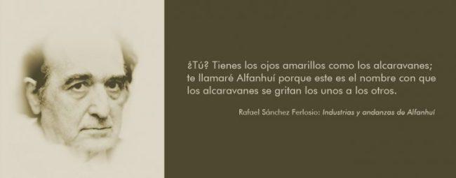 Cita de Rafael Sánchez Ferlosio, Alfanhuí