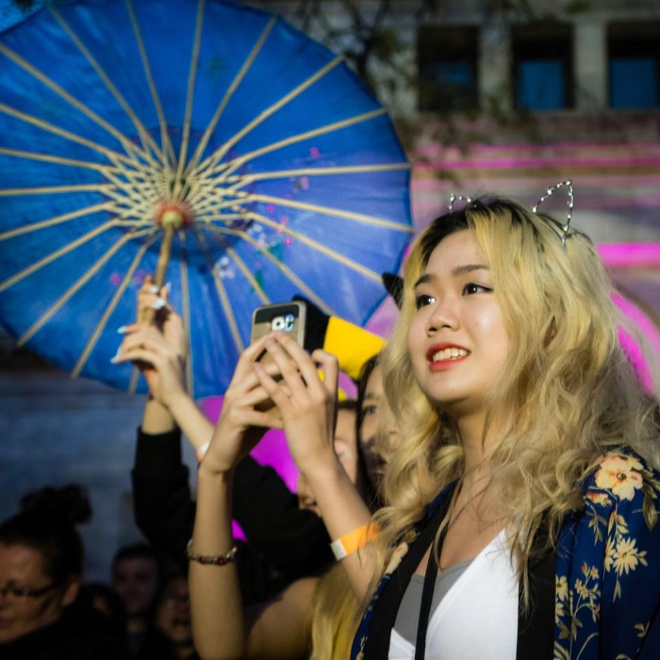 Umbrellas, Phones and Neko