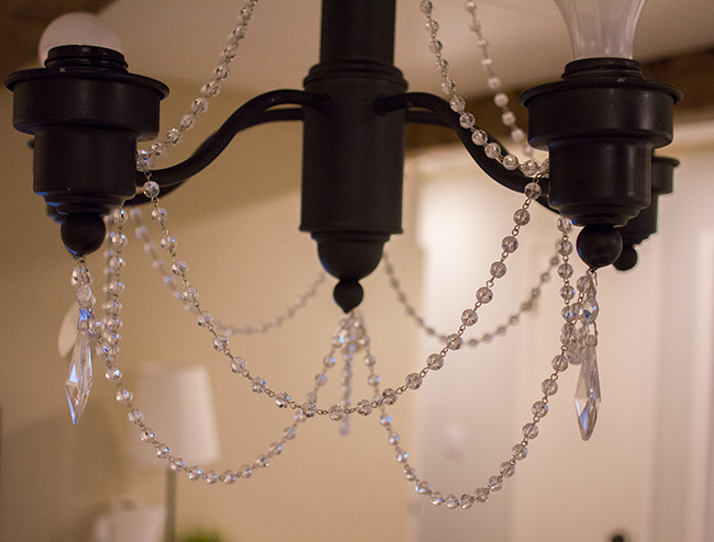 I Grabbed Up Another Small Hanging Crystal At Joann S For The Bottom Center Just Thought It Needed One More There