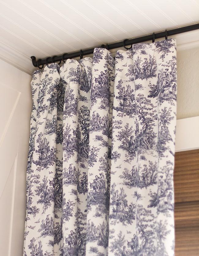 master makeover new curtains diy 12 rod