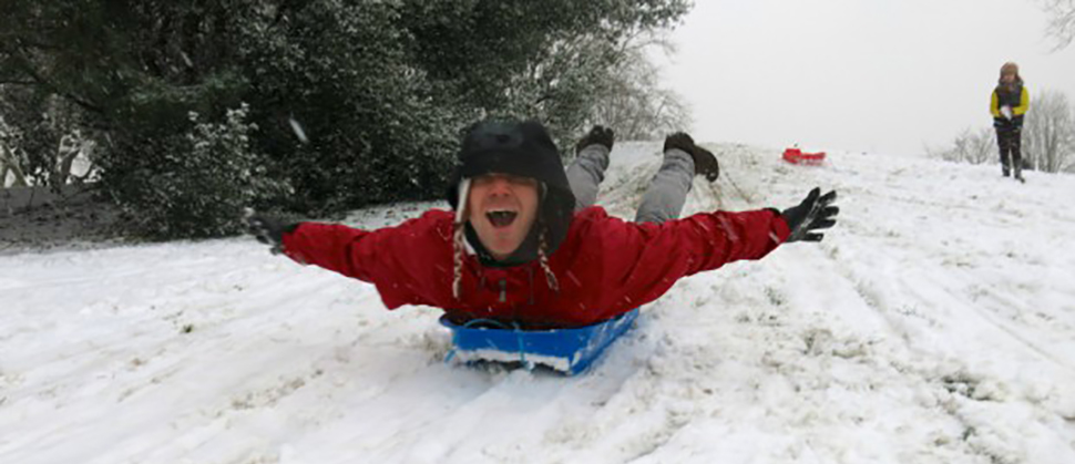 The Best Sledding at or Near the Jersey Shore
