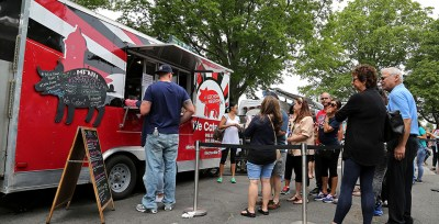 The Jersey Shore Food Truck Festival is back at Monmouth Park Racetrack!