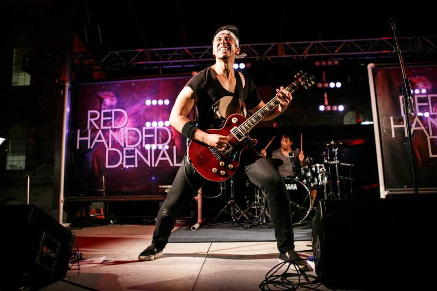 Red Handed Denial at Rock the Mill 2015