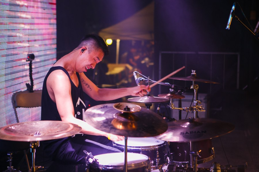 Tyson Dang of Red Handed Denial at Night It Up! 2016