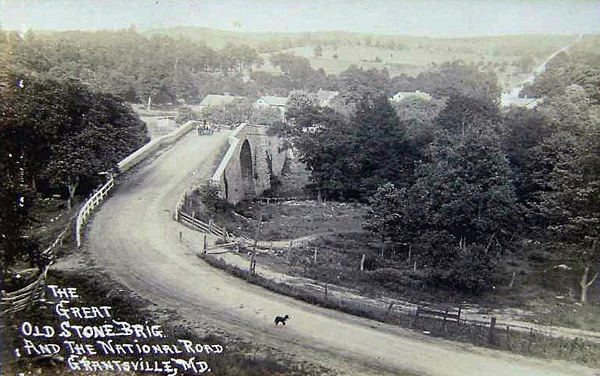 MD NR Casselman Bridge ca 1915 proc