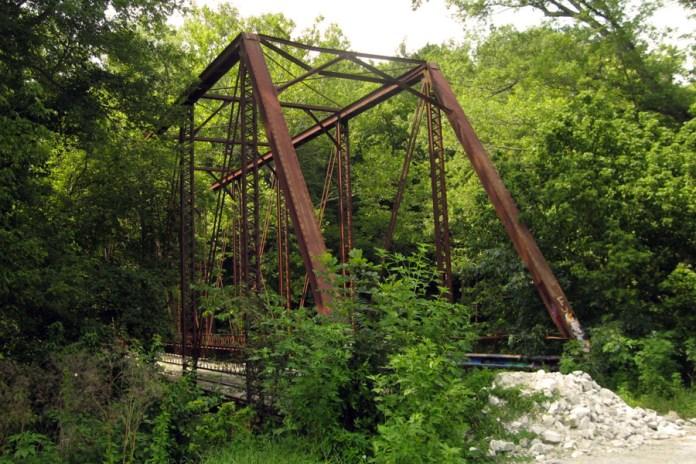 1913 Houck Iron Bridge, now called Gray Bridge, Putnam County, Indiana