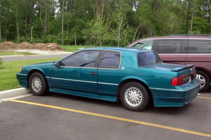 1991-93 Mercury Cougar a