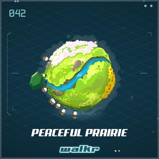 No.042 Peaceful Prairie