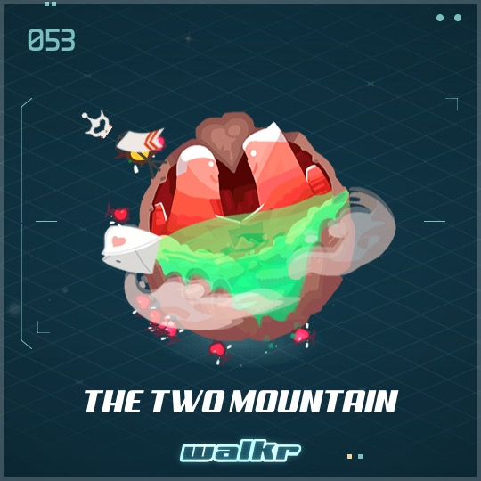 No.053 The Two Mountain