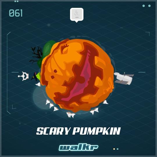 No.061 Scary Pumpkin