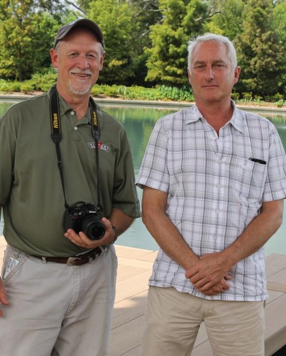 Rick Lewandowski and Darrin Duling at Shangrila