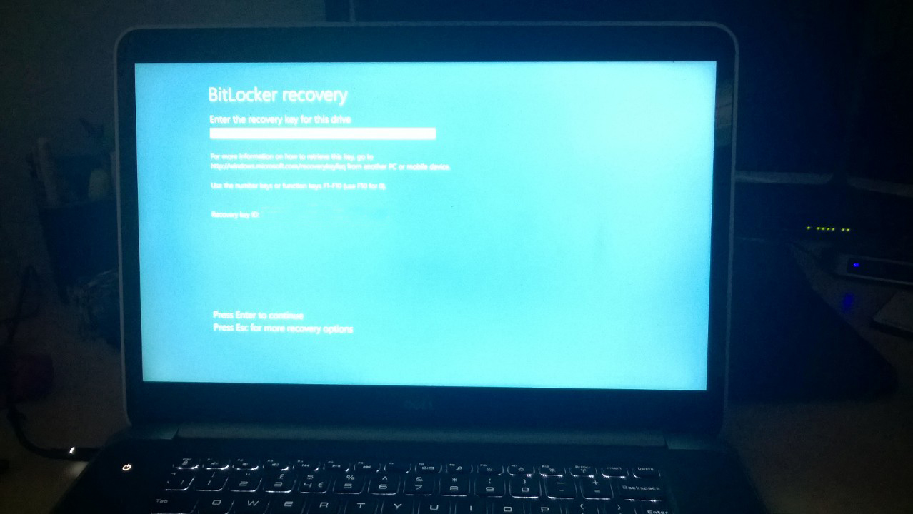Dell XPS 9530 UEFI BIOS Recovery - James' Blog