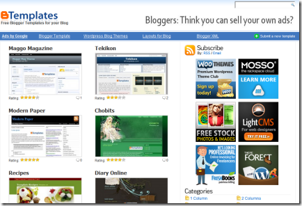 Blogger_Template