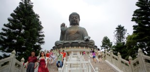 A Layover in Hong Kong - The Big Buddha