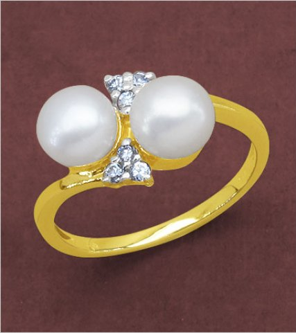 Stunning Pearl Ring