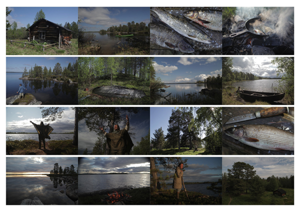 lapland collage by john hicks