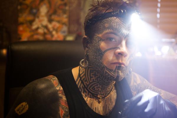 Joe Munroe Tattoo Artist by john Hicks
