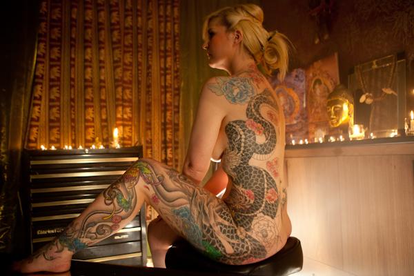 Sara Tattoo by John Hicks