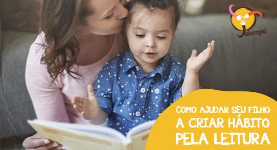 Como ajudar seu filho a criar hábito pela leitura