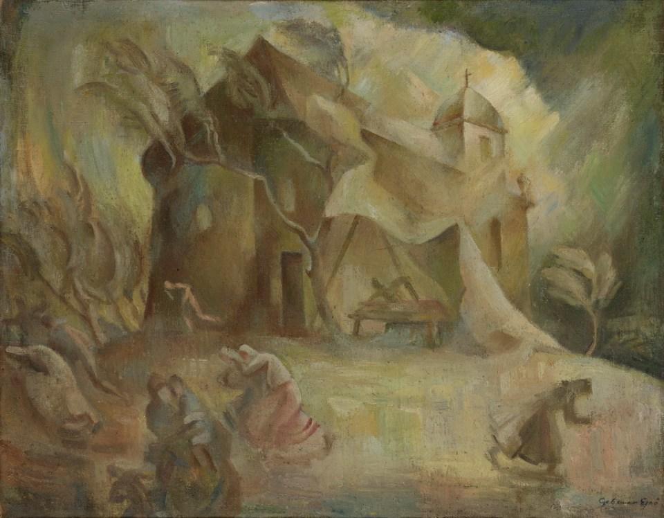 Gebauer festmény