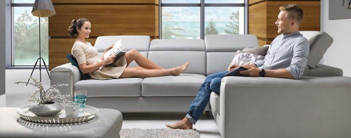 Kényelemben Stagra kanapén