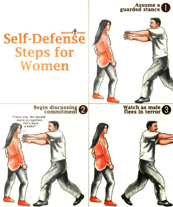 Self Defense - Reflections From a Murky Pond