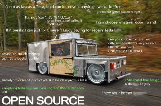 Open Source according to /r/ProgrammerHumor