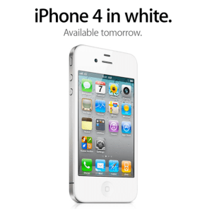 White iPhone 4 Coming Tomorrow?