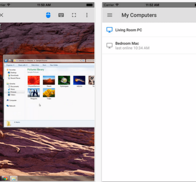 Google releases Chrome Remote Desktop for iOS