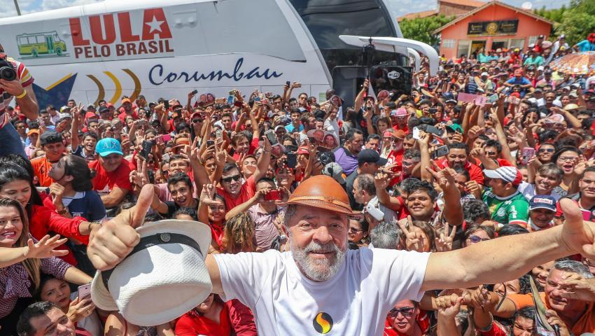 As caravanas do Lula pelas cidades do agronegócio