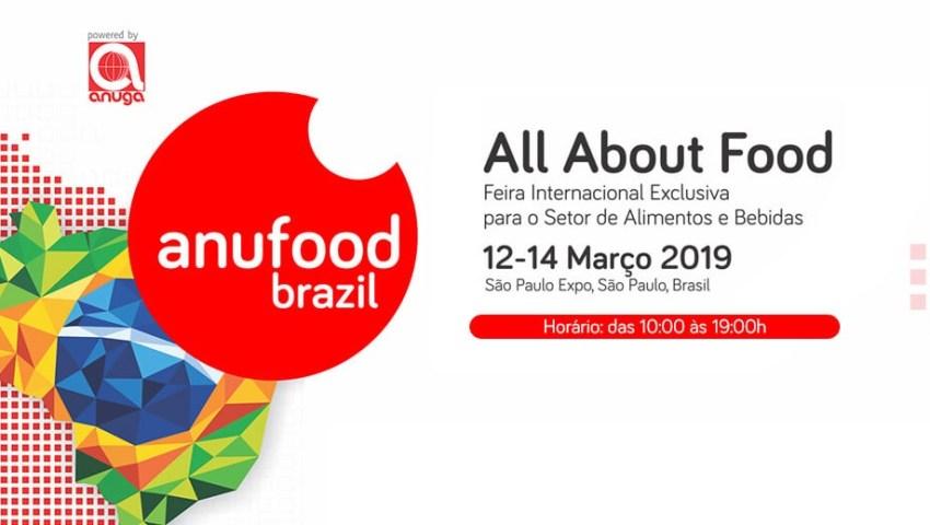 Anufood Brazil começa amanhã em São Paulo