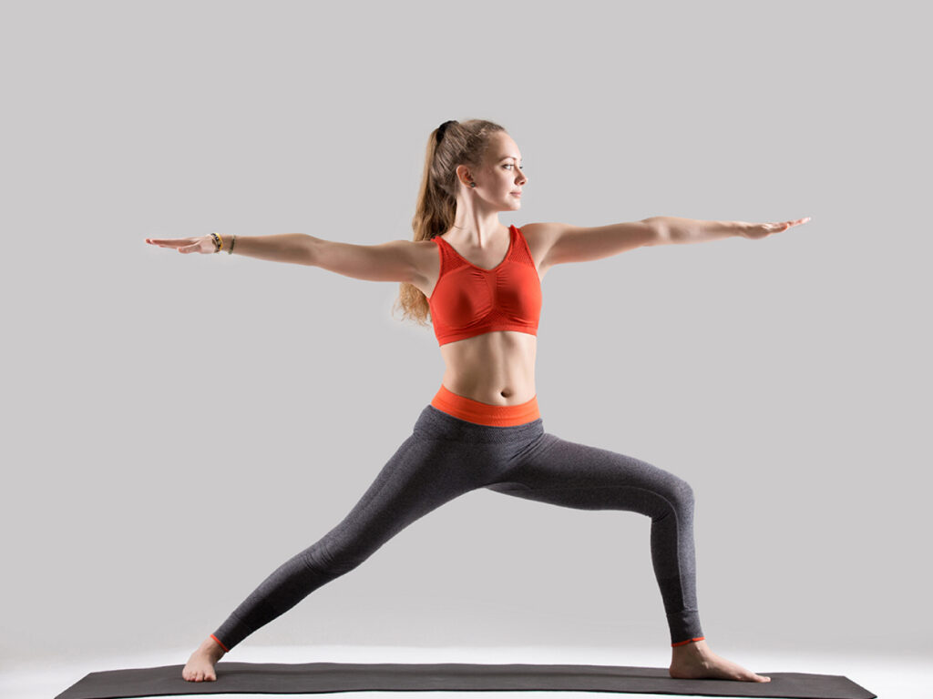 A Girl doing Yoga on World Heart Day 2020