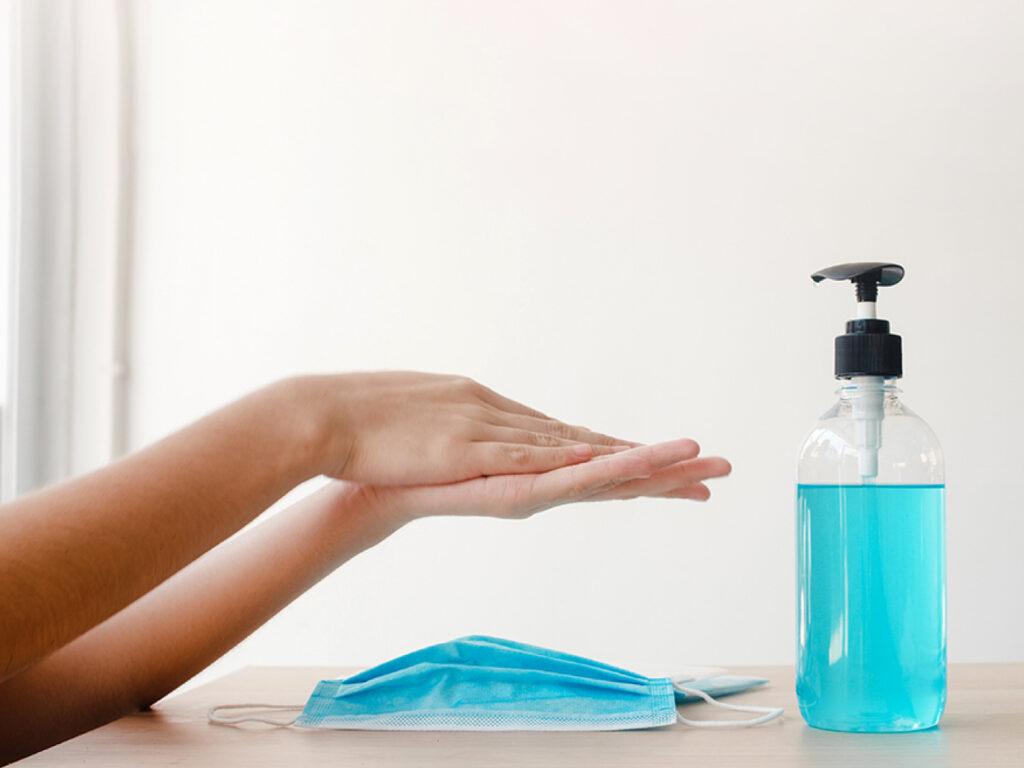 Hand Hygiene with Sanitizer