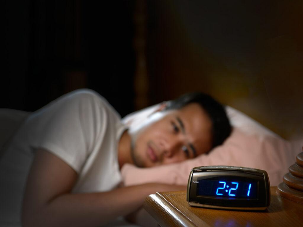 An Insomniac guy