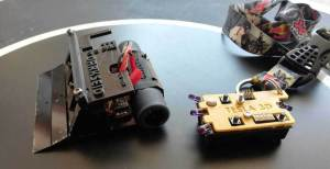 mini sumo robot with remote