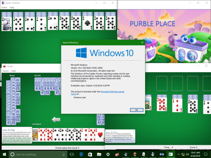 Como trazer de volta jogos do Windows 7 para o Windows 10