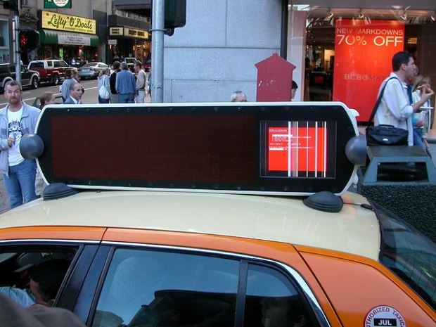 Mobile outdoor advertising creative ads