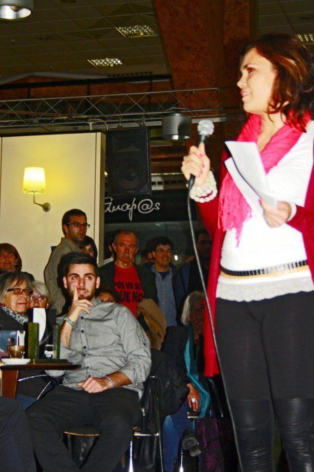 María Andés in Pecha Kucha Night vol. 5