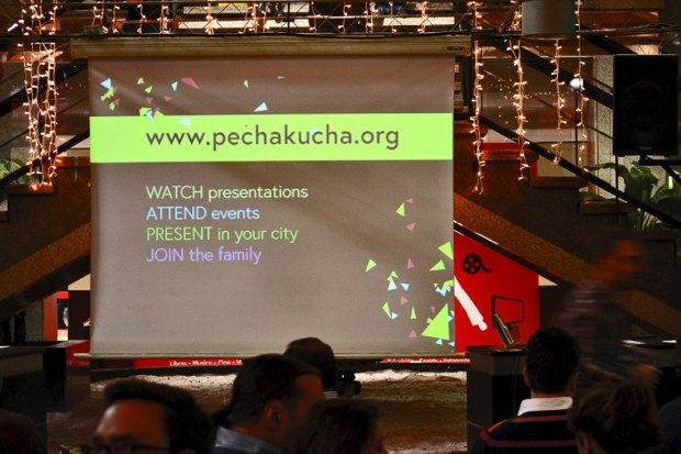Great assistance to Pecha Kucha Night Alicante