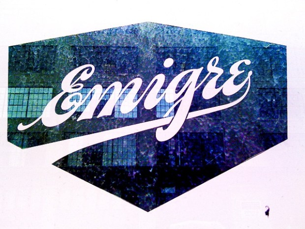 Emigre Magazine logo